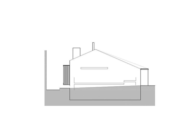 Arquitectura_ Rehabilitación Casa en Porto de Bares_alzado2