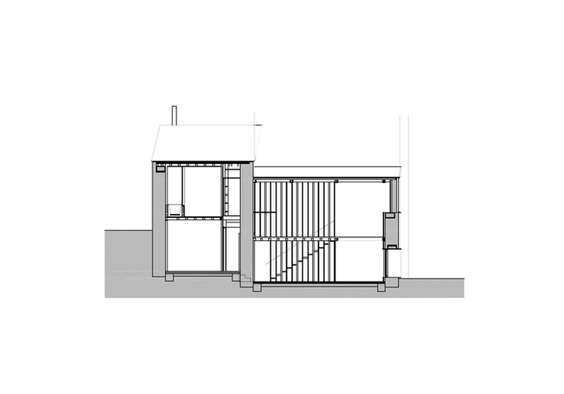 Arquitectura_ Rehabilitación Casa en Porto de Bares_seccion3