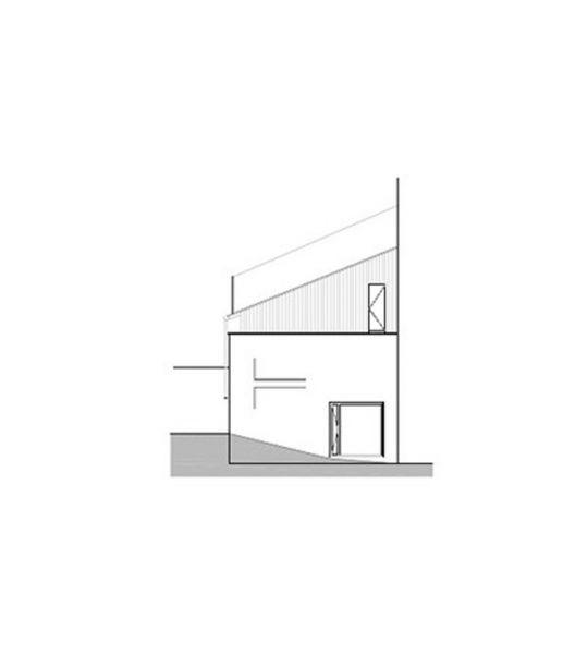 Arquitectura_ Rehabilitación Casa en Porto de Bares_alzado 3