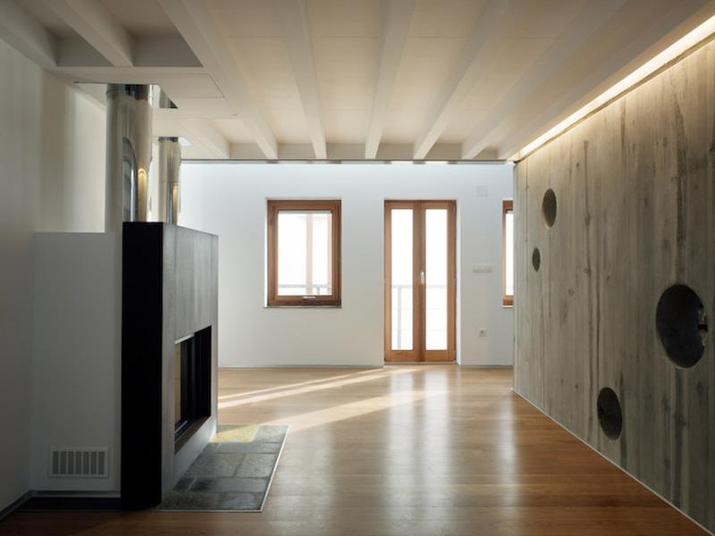 Arquitectura_ Rehabilitación Casa en Porto de Bares_espacios diafanos