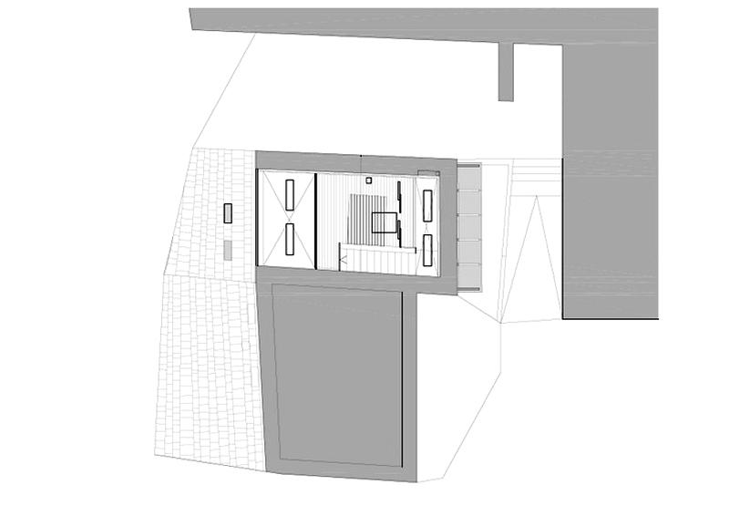 Arquitectura_ Rehabilitación Casa en Porto de Bares_Planta segunda