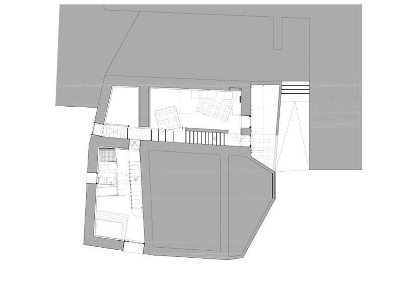 Arquitectura_ Rehabilitación Casa en Porto de Bares Planta baja