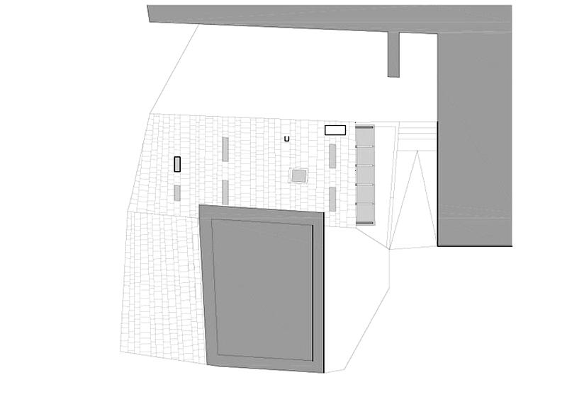 Arquitectura_ Rehabilitación Casa en Porto de Bares_Planta de Cubiertas