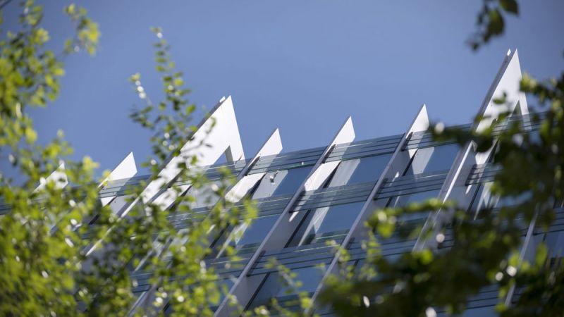 arquitectura estudio L35  rehabilitacion edificio gorbea 1 madrid vista exterior detalle