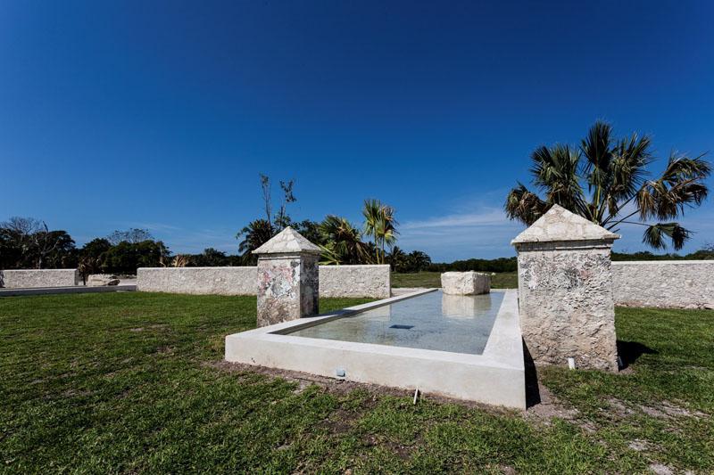 arquitectura rehabilitacion Niop _seccion_vista lamina de agua