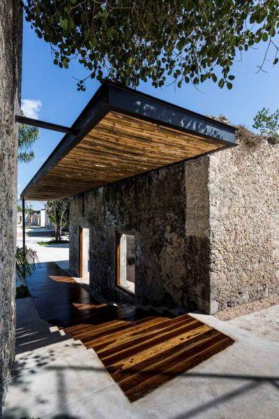arquitectura rehabilitacion Niop _seccion_vista acceso