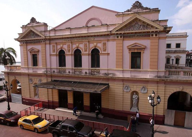 Arquitectura_rehabilitación _teatro nacional_fachada principal