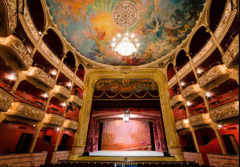 arquitectura_ Rehabilitación teatro nacional_Panamá_ imagen interior del Teatro Nacional