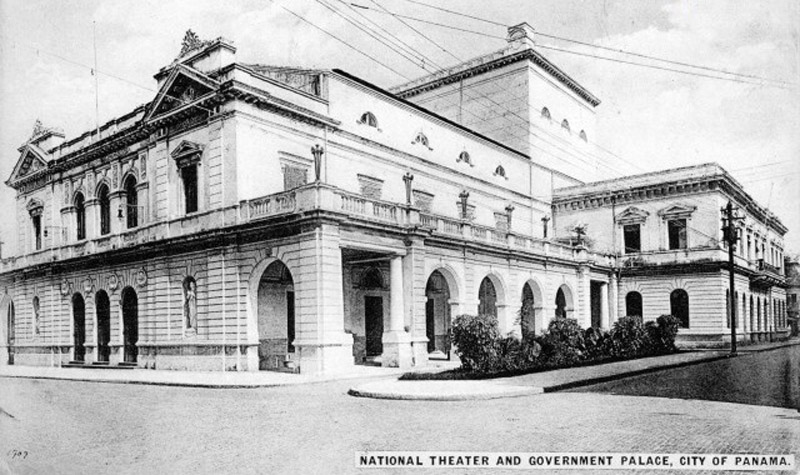 arquitectura_ Rehabilitación teatro nacional_Panama_imagen antigua