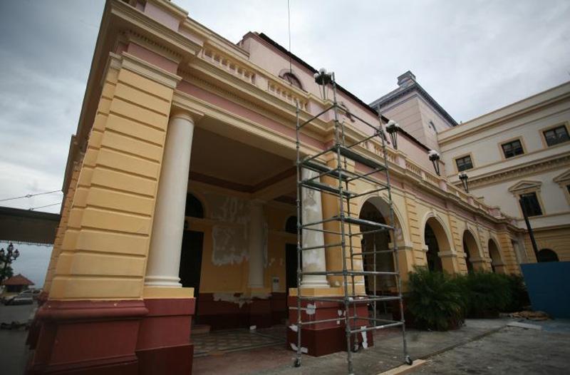 arquitectura_ Rehabilitación teatro nacional_Panma_ patio