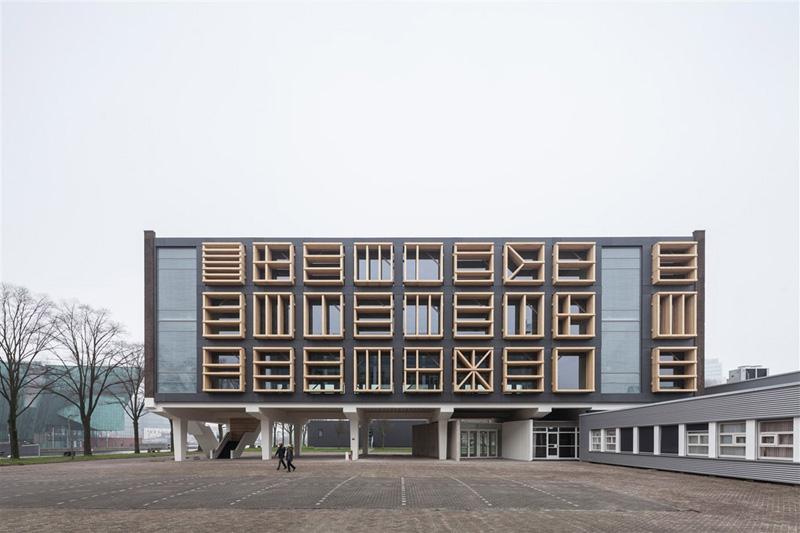 Arquitectura_ remodelación_edificio 27E _fachada principal