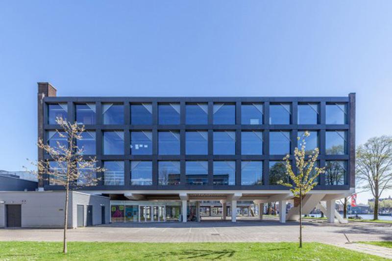 Arquitectura_ remodelación_edificio 27E _fachada posterior