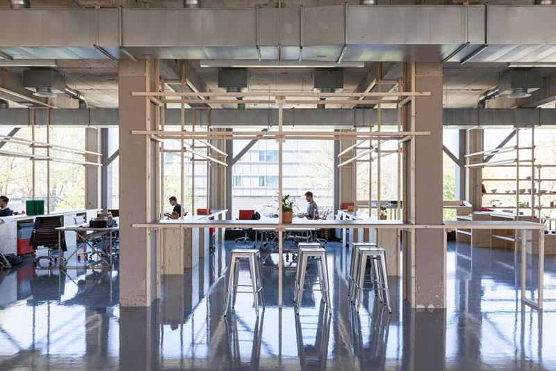 Arquitectura_ remodelación_edificio 27E _vista interior salas