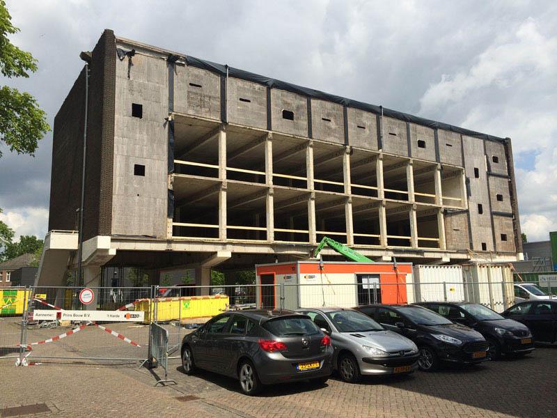 Arquitectura_ remodelación_edificio 27E _fase de desmantelamiento