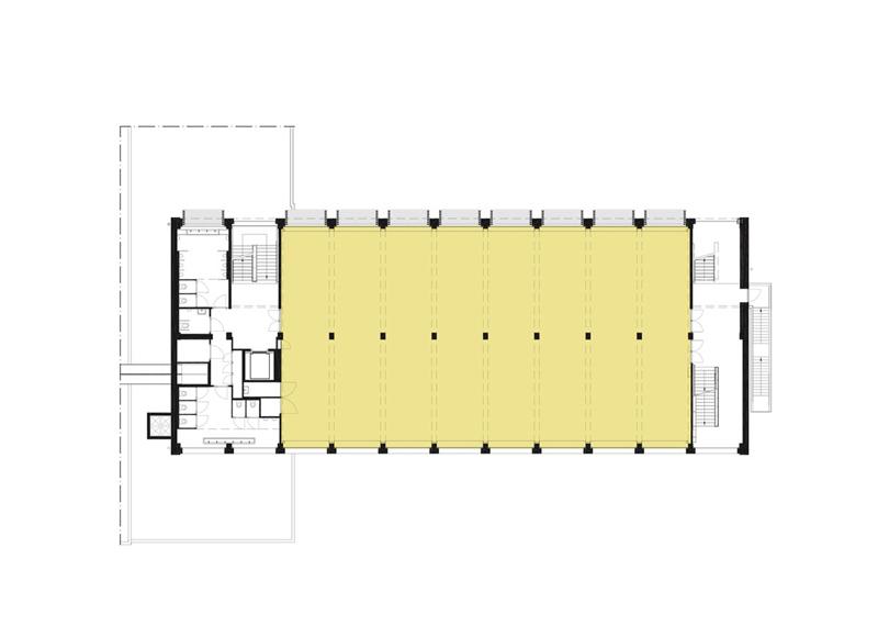 Arquitectura_ remodelación_edificio 27E _plano planta primera