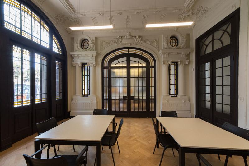 Arquitectura_Restatauración _Palacio Alamos_ Chile_interior recintos