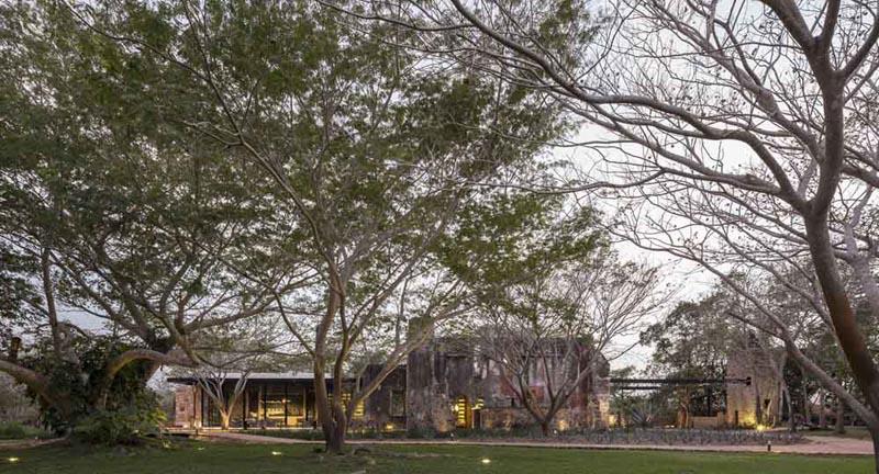 ARQUITECTURA_RESTAURANTE_IXI'IM REHABILITACION_imagen general de la hacienda