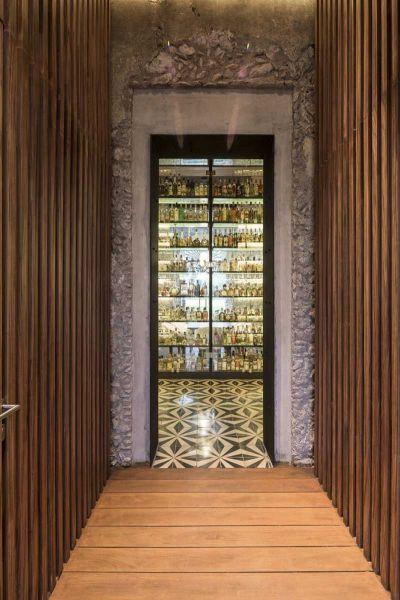 ARQUITECTURA_RESTAURANTE_IXI'IM REHABILITACION-vista colección bebidas