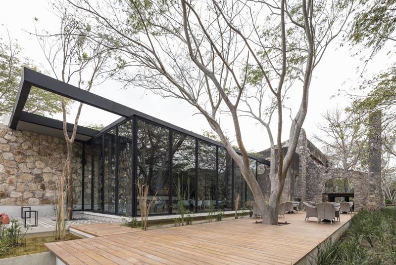 ARQUITECTURA_RESTAURANTE_IXI'IM REHABILITACION_vista porche