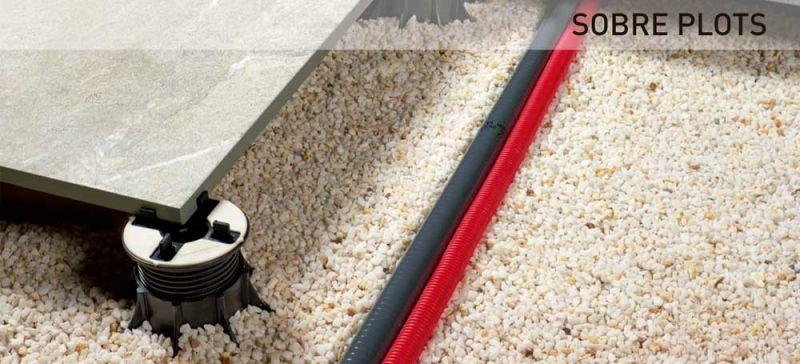 rocersa outdoor 20 suelo gres porcelanico sobre plots
