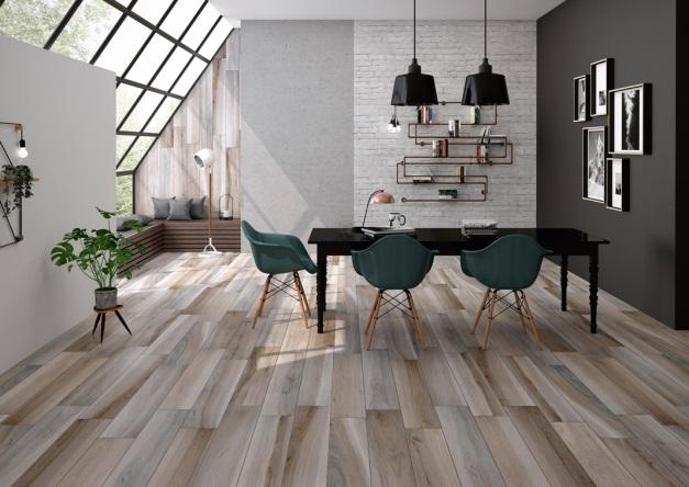 Rocersa Cerámica suelos cerámicos en acabado madera foto interior 01