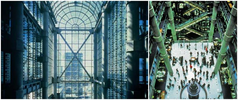 arquitectura, arquitecto, diseño, design, interior, interiorismo, Richard Rogers, historia, Edificio Lloyd's, Londres