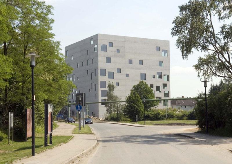 Escuela de Diseño Zollverein en Essen, Alemania