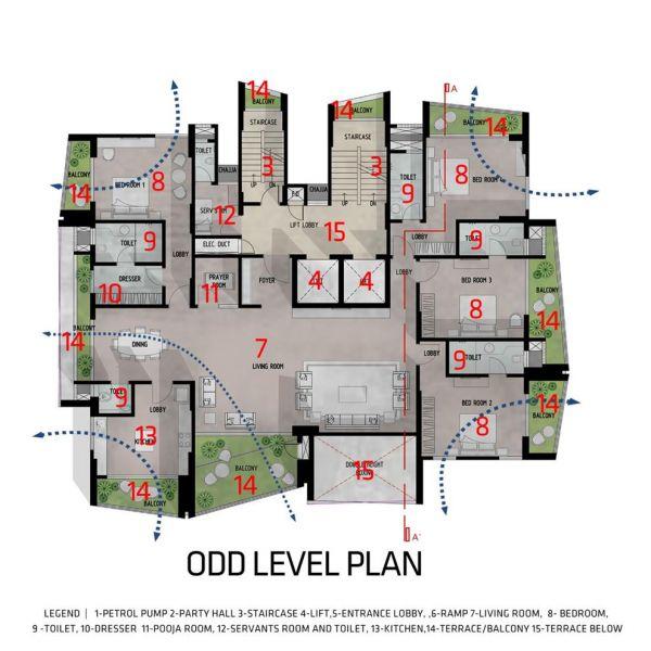 arquitectura_Sanjay Puri_planta