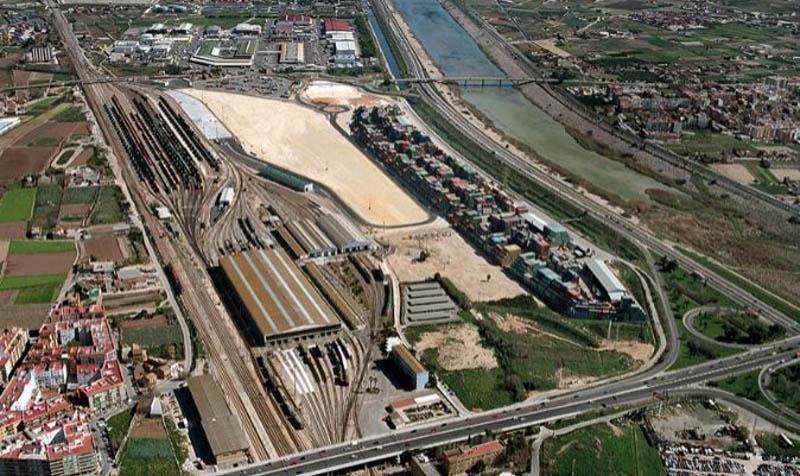 imagen actual de la estación de la Font de Sant Lluís