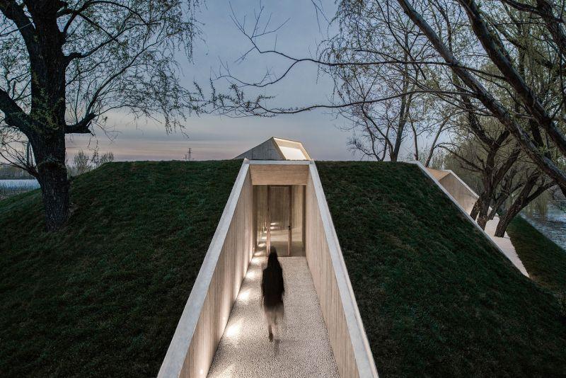 arquitectura_santuario budista_entrada