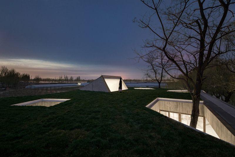 arquitectura_santuario budista_cubierta