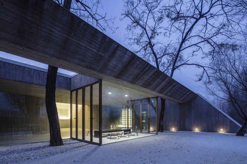 arquitectura_santuario budista_terraza