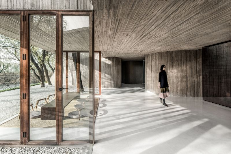 arquitectura_santuario budista_espacio central