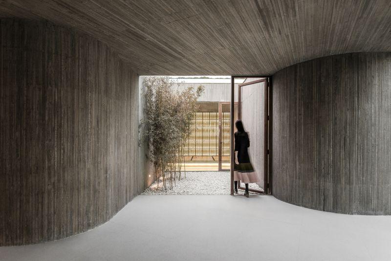 arquitectura_santuario budista_sala estar
