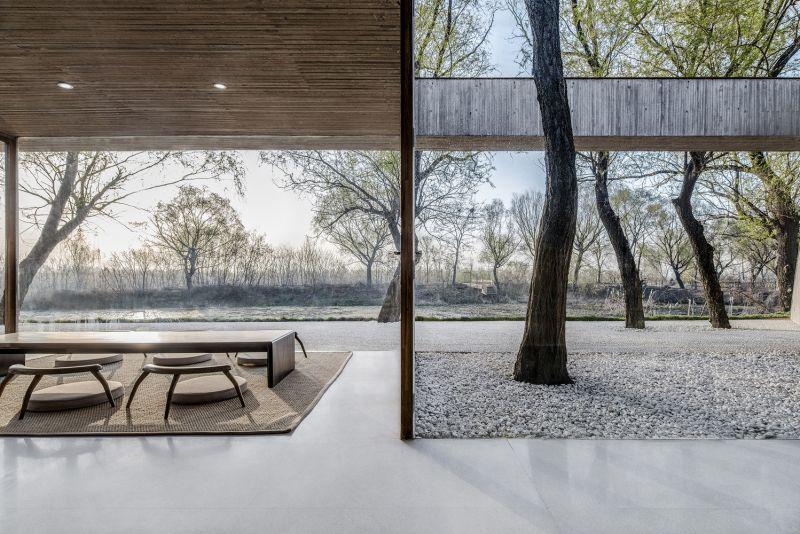 arquitectura_santuario budista_sala té