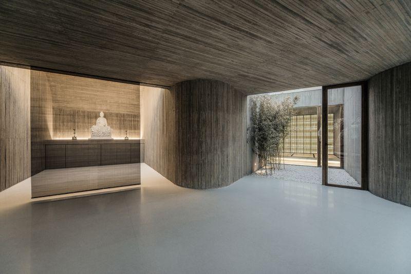 arquitectura_santuario budista_interior salas