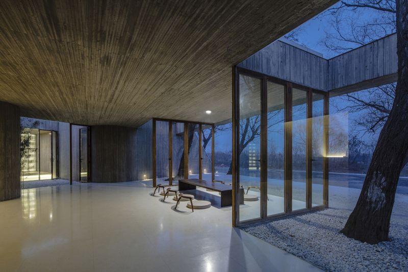arquitectura_santuario budista_patios