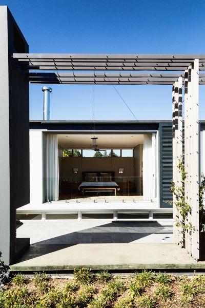 arquitectura_Sarah Calburn_Dunkeld House_relación con exterior