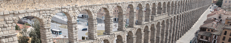 imagen del Acueducto de Segovia