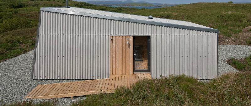 arquitectura, arquitecto, diseño, design, interiorismo, tiny house, mini vivienda, minimalismo, micro casa, Fiskavaig Studio, Escocia, Rural Design Architects, David Barbour, Skye, estudio, alquiler, vacaciones, rural, aire libre