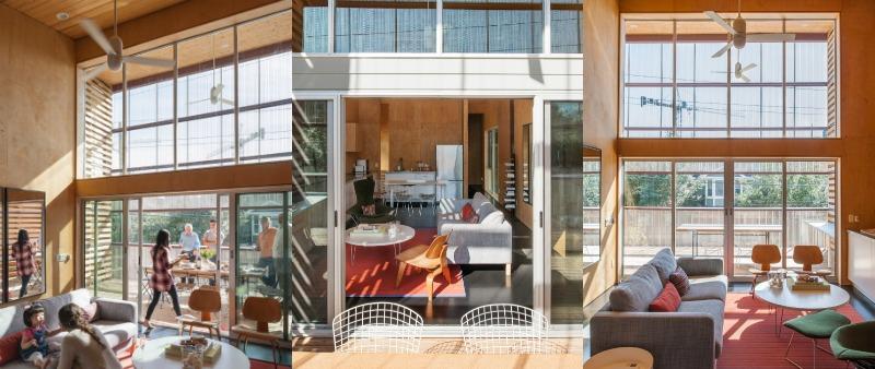 arquitectura, arquitecto, diseño, design, low cost, madera, flexibilidad, interiorismo, interior, Paul Hester, ZDES Architects, Houston, USA, EE.UU., Estados Unidos, unifamiliar, vivienda, casa, comercial, oficinas, alquilar, eficiencia energética, sostenible, ecológico