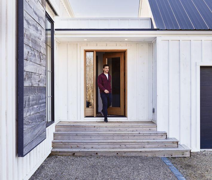 arquitectura_ Silo House - Caledon Build _ ACCESO