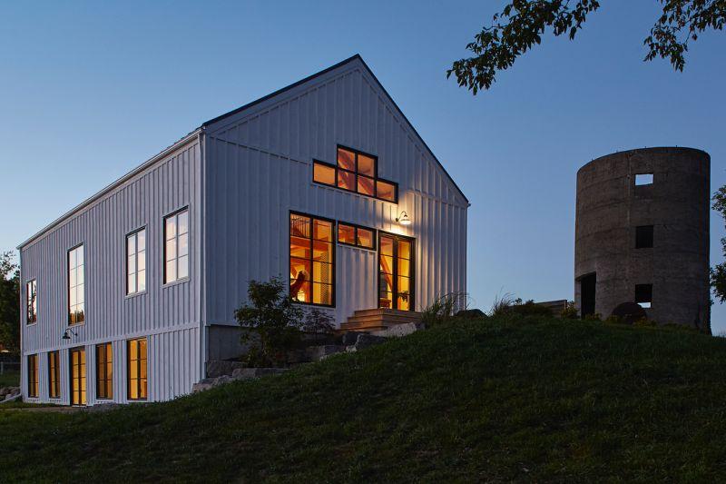 arquitectura_ Silo House - Caledon Build _ fachada