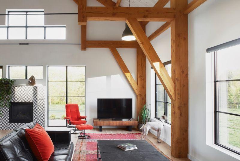 arquitectura_ Silo House - Caledon Build _ salón
