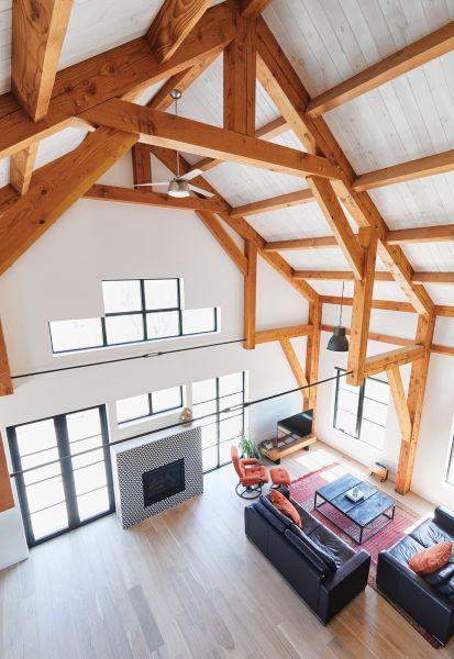 arquitectura_ Silo House - Caledon Build _ cenital