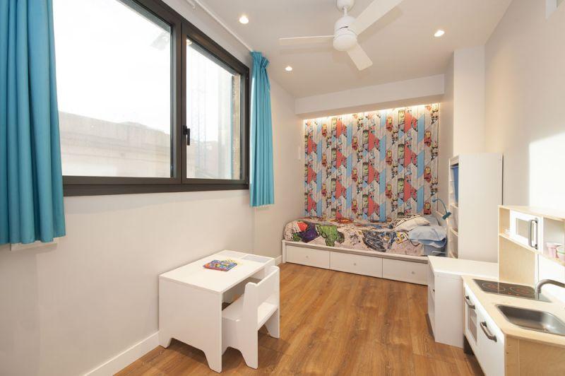arquitectura sincro proyecto almeda dormitorio niños