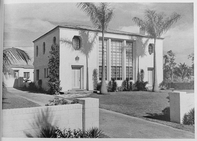 arquitectura_Skinner House_ rehabilitacion art deco_ miami _imagen de 1934