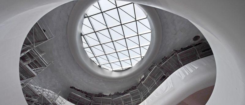 arquitectura_Snoetta_Centro Abdulaziz_biblioteca espacio central