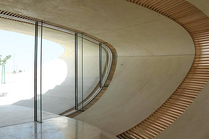 arquitectura_Snoetta_Centro Abdulaziz_materialidad interior_1_seele