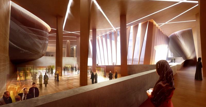 arquitectura_Snoetta_Centro Abdulaziz_render museo
